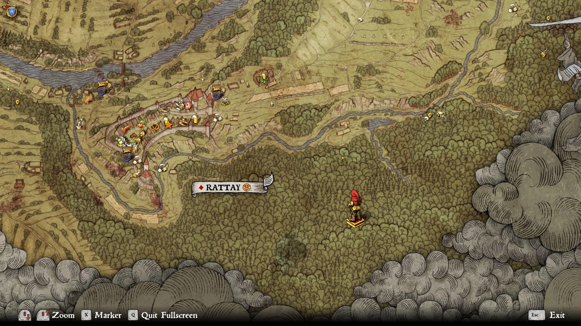 Treasure Map Xii | Kingdom Come Deliverance Wiki | The Vidya